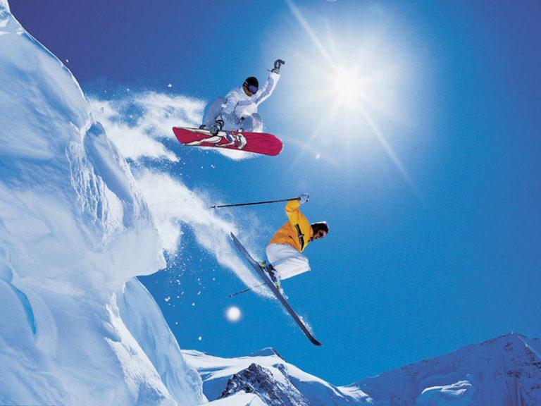 Προορισμοί για σκι και σνόουμπορντ